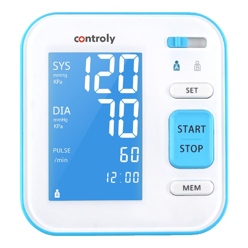ciśnieniomierz-rodzinny-controly-naramienny-domowy-sprzęt-diagnostyki-nadciśnienia