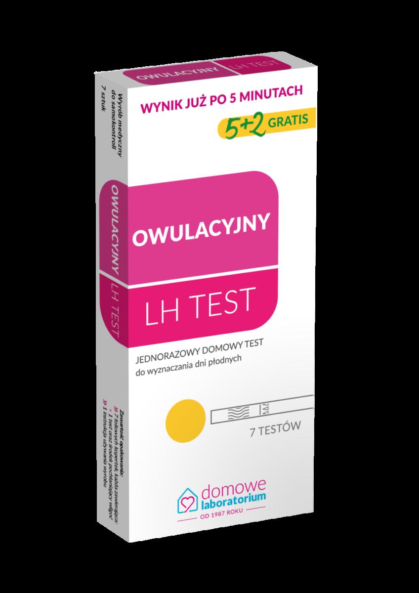 test-na-owulację-domowe-laboratorium-domowy-test-diagnostyczny-owulacyjny-LH